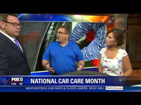 Fox 5 DC - Tire Industry Association Offers Tire Safety Tips for National Car Care Month