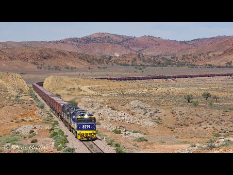 BIG Coal Trains in South Australia's North