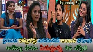 Bigg Boss Telugu Season 3 Episode 29 Highlights   Entertainment Channel