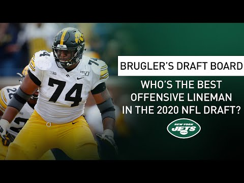 Brugler's Draft Board: Ranking The Top Offensive Linemen Prospects | New York Jets | NFL Draft