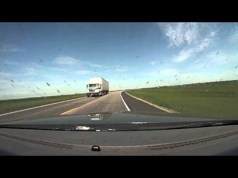 Alaska Trip Day 2 Fargo, ND to Saskatoon, SK Driving Time Lapse