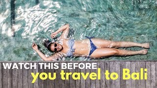 Watch this before you travel to Bali // Bali, Indonesia Travel Vlog