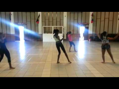 Antigua State College Pageant Dance Practice.