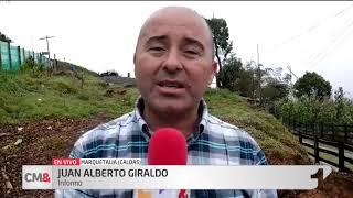 11 muertos y cuatro desaparecidos por derrumbe en Marquetalia, Caldas