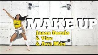 MAKE UP - Jason Derulo & VICE & Ava Max | ZUMBA Fitness Video
