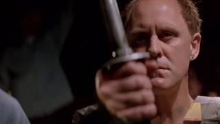 John Lithgow VS Jesse Ventura SWORD FIGHT!!! from Ricochet (1991)