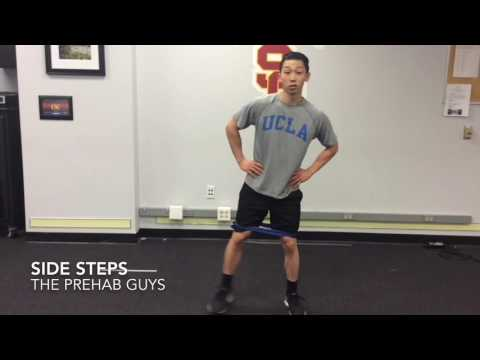 How To Do Banded Side Steps Properly