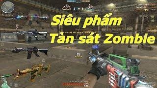 TOP 4 Khẩu M4A1 VIP Chém Zombie Như Chém Chuối - Tiền Zombie v4