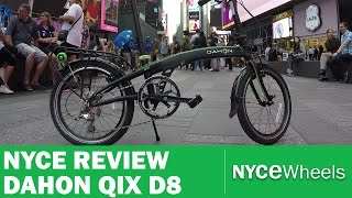 Dahon Qix D8 Folding Bike Review