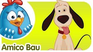 Amico Bau - Canzoni per bambini e bimbi piccoli