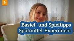 Spülmittel-Experiment / Corona: Bastel- und Spieltipps / Städtische Kindertagesstätten