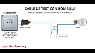 CABLE CASERO COMPROBADOR DE CONDENSADORES, CAPACITORES DE ELECTRODOMESTICOS 1 de 5