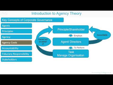 ACCA P1 Introduction to Agency Theory