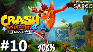 Zagrajmy w Crash Bandicoot 4: Najwyższy Czas (106%) odc. 10 - Na odwrót
