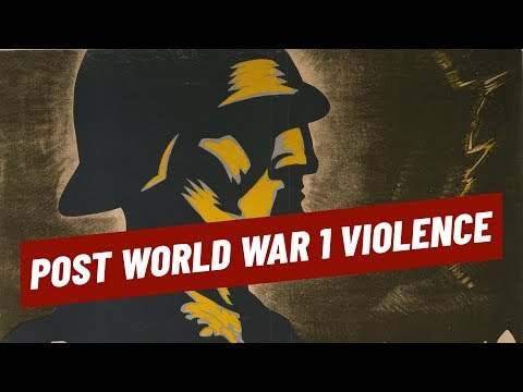 Post WW1 Violence Theory - Paris Peace Conference I BEYOND THE GREAT WAR