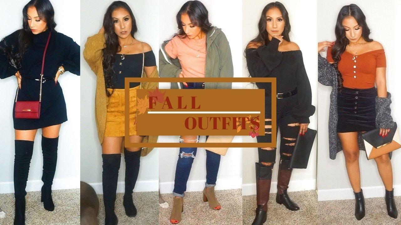 [VIDEO] - FALL OUTFIT IDEAS | Fall Fashion 5
