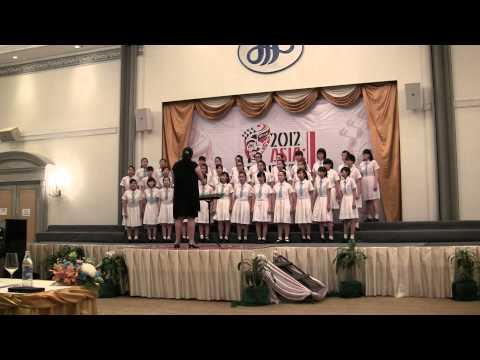 Sacred Heart Canossian College Choir Macau, Asia Cantate 2012