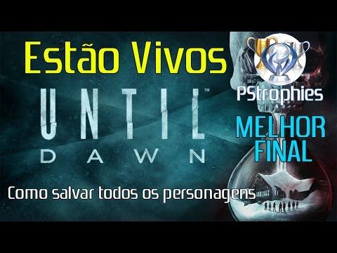 Until Dawn - Estão vivos - Guia de troféu + Melhor final cace861bdc8f9