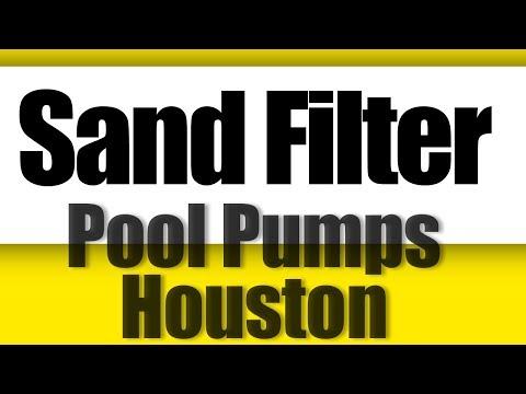 Sand Filter Pool Pumps Houston