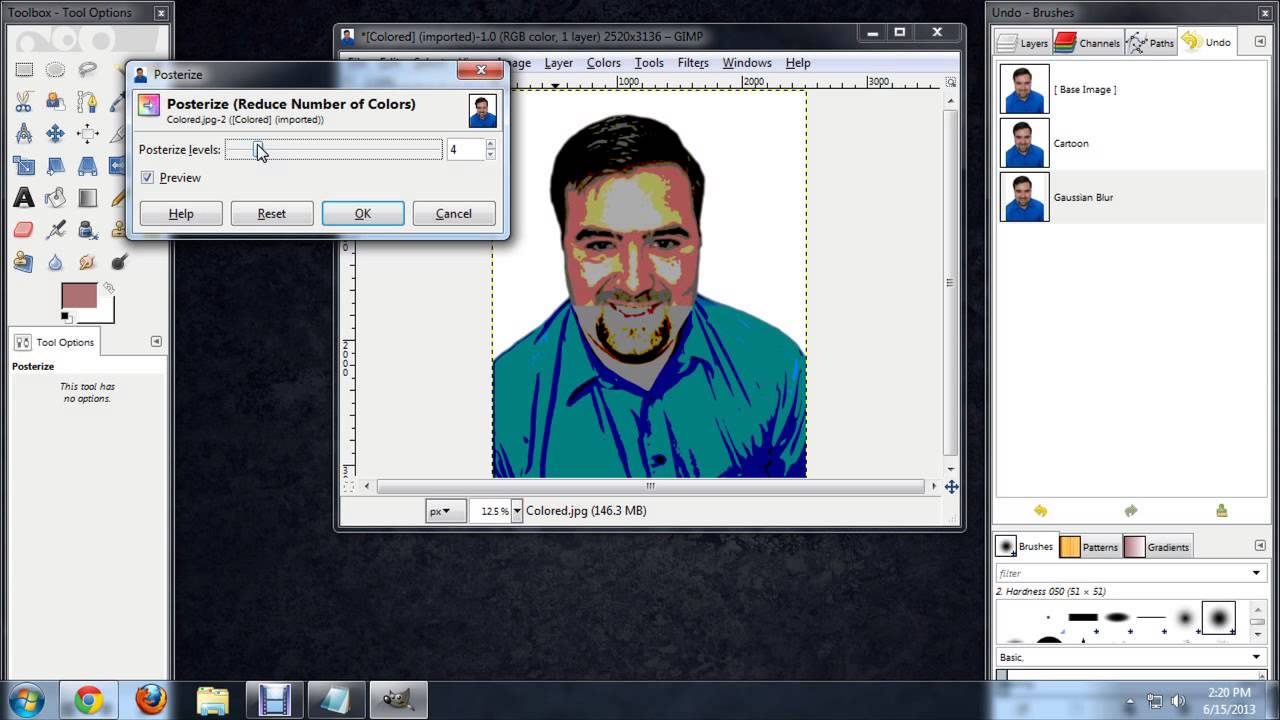 How to Trace in GIMP : Tech Niche