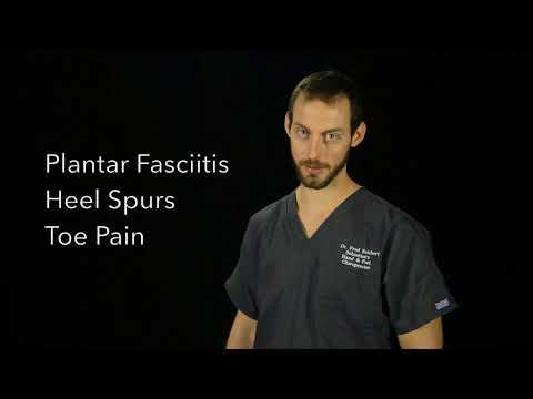 Sebastian, FL Chiropractor Treats Foot Pain- Dr. Fred Reichert