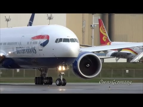 British Airways 777 Wing Wave Delivery Flight @ KPAE Paine Field