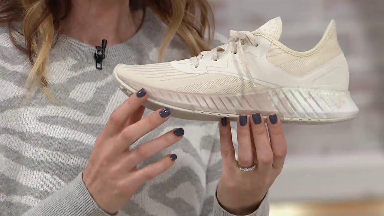 trigo rock Polinizador  Reebok Running Lace-Up Sneaker - Flashfilm 2.0 on QVC - YouTube