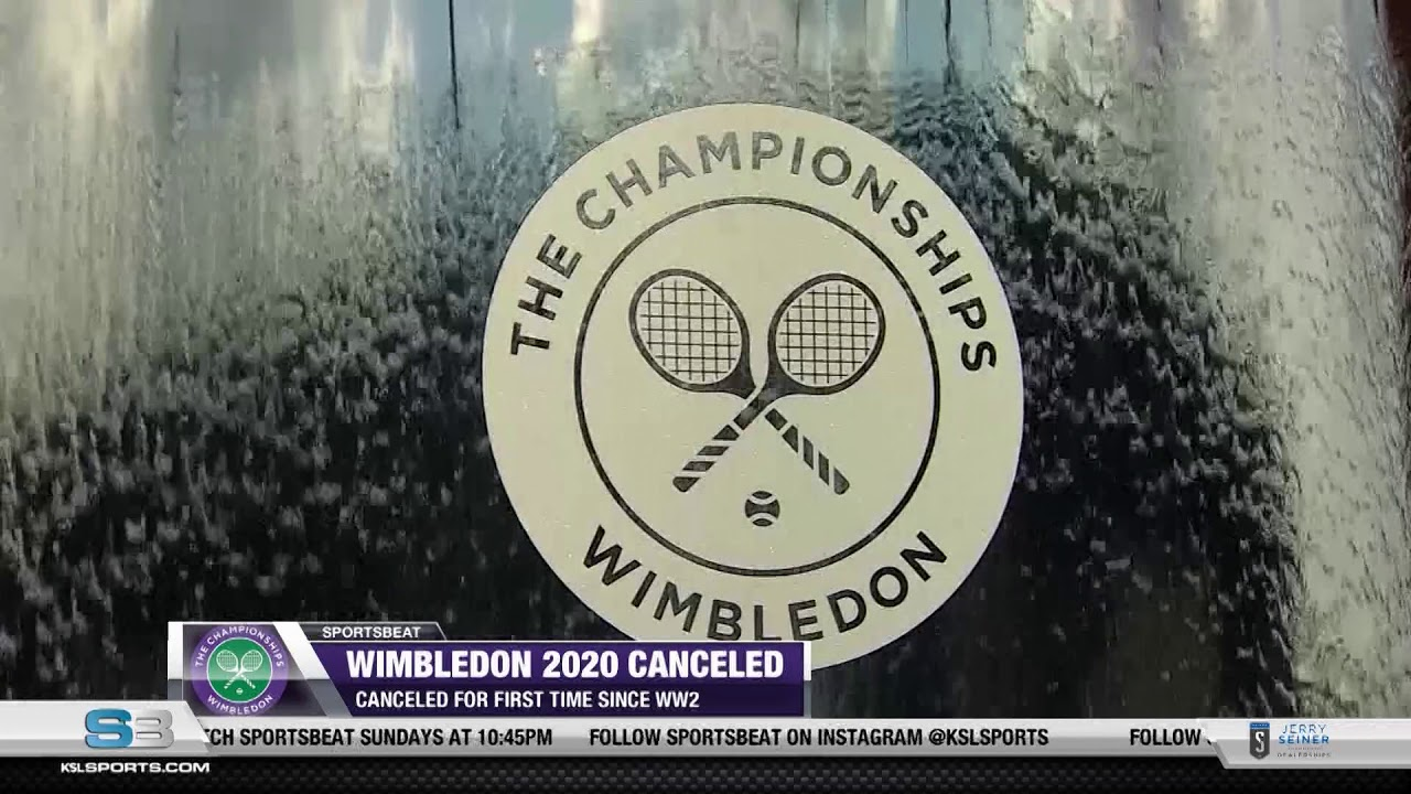 Virus forces Wimbledon cancellation for 1st time since WWII