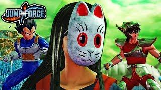 JUMP FORCE Beta - Online Versus Mode Gameplay, Custom Characters, & New Characters Gameplay