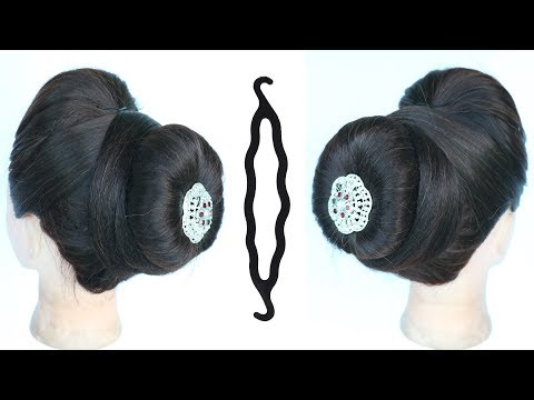 Easy And Simple Juda Hairstyle With Using Magic Hair Lock || Hair Style Girl || Simple Hairstyle