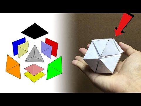 Tetrahedron in a Cube in a Rhombic Dodecahedron!!