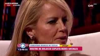 Rostro de Cecilia Bolocco en su debut fue foco de burlas en las redes sociales - SQP