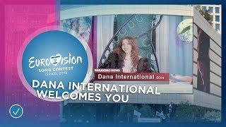 Dana International welcomes you to Tel Aviv