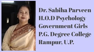 Diet Meeting ~ By Dr. Sabiha Parveen H.O.D Psychology Government Girls P.G. Degree College.