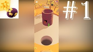 Blocksbuster! Game Play Walkthrough Part 1 - Levels 1-45 (iOS, Android)