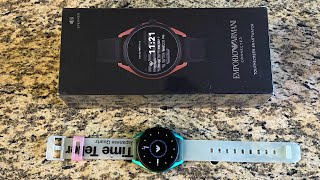 Is Emporio Armani Connected 3 Smartwatch still worth it 6 months later on sale?