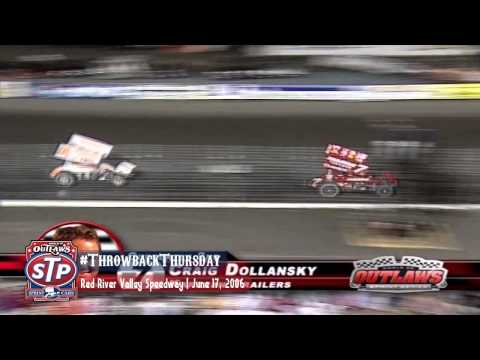 #ThrowbackThursday: World of Outlaws Sprint Cars Red River Valley Speedway June 17th, 2006