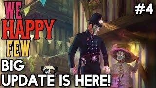 We Happy Few 60 FPS #4 - Big Update Is Here! with Yogscast Panda