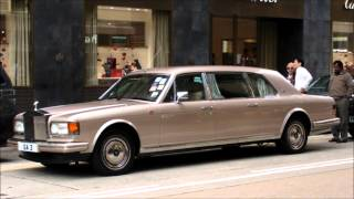 Rolls Royce Silver Spur Stretch. Mulliner Park Ward Limousine. Seen in Hong Kong