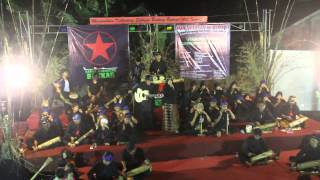 walungan cisadane bakkar barak karinding di acara gema 70 karinding untuk indonesia