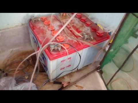 400 watts solar system 4 fans 5 LED lights detail in Urdu Hindi