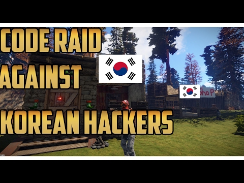 Rust | KOREAN HACKER GROUP CODE RAID (SUBTITLES)