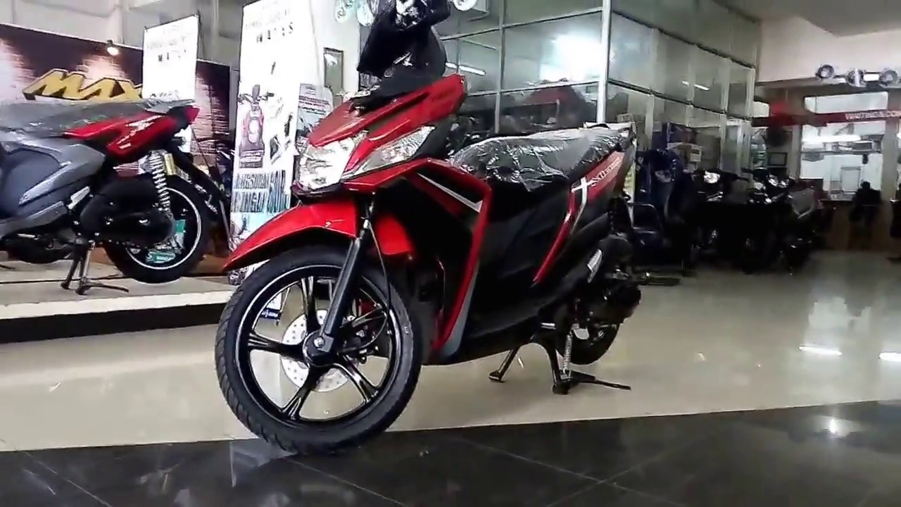 Warna Baru Yamaha Mio M3 Cw 125 Red 2018 Youtube