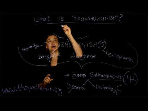 "2. What is TRANSHUMANISM? Dr. Ferrando (NYU) - Course ""The Posthuman"" Lesson n. 2"