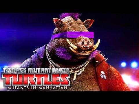 Let's Play Teenage Mutant Ninja Turtles Mutants in Manhattan Deutsch #01 - Bebop
