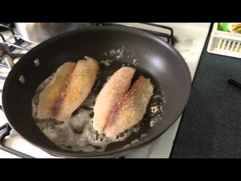 Pan Fried Tilapia Fillet