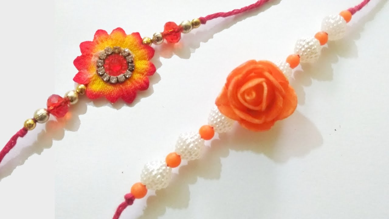 Easy to make Rakhi at Home | DIY  Rakhi 2020 | Easy Handmade Rakhi making ideas