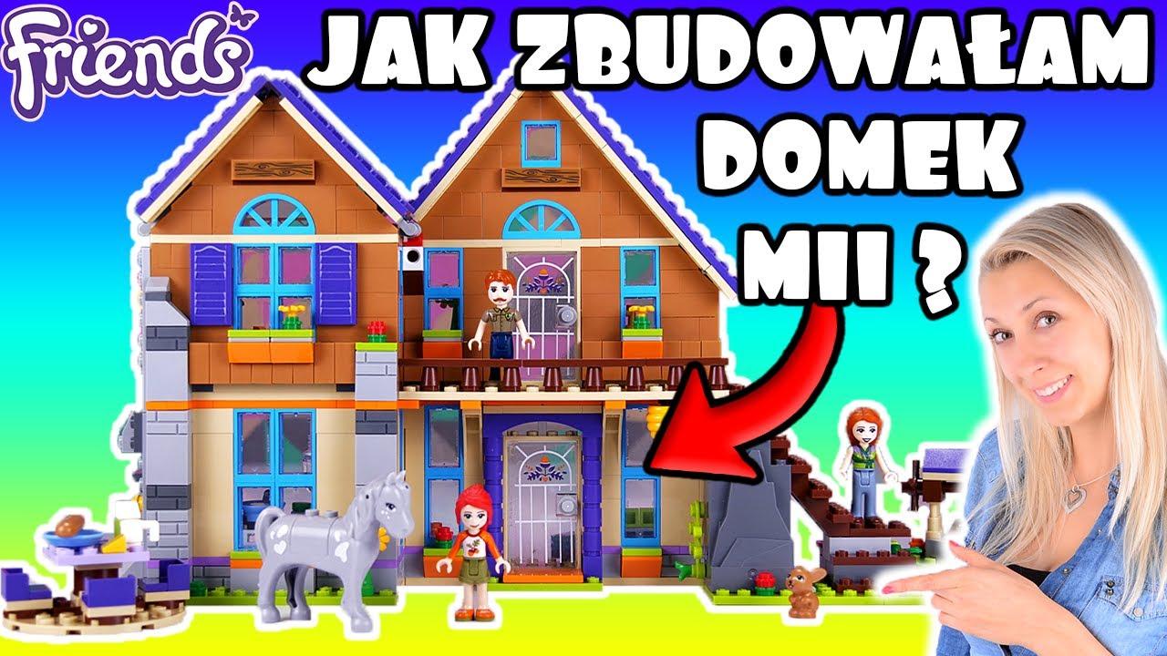 Jak Zbudowałam Domek Mii Klocki Lego Friends 41369 Nowość 2019