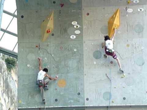Rock Master 2009: duello Adam Ondra VS David Lama