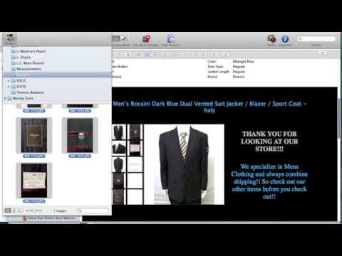 List Your eBay items FAST with Garage Sale Program - Real Time Listing